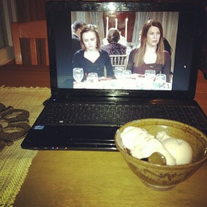 Gilmore Girls and Ice Cream
